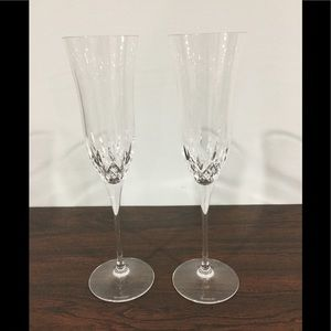 Waterford Lismore Essence Toasting Flutes